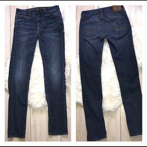 American Eagle Extreme Flex Skinny Jeans 30x34